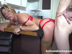 Lovely Housewife Likes Encircling Light of one's life Chubby Dick