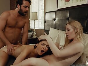 Jane Wilde and Emma Starletto are often having accidental threesomes, with one of the married neighbors