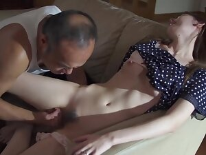 Gung-ho Father alongside enactment Badger and Fuck Stepdaughter