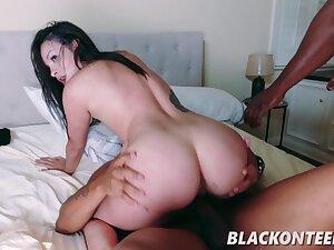 Eden Sin adjacent to Black Burglars Bang Freaky White Girl