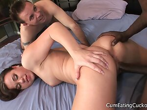 Cuckold Gaping Crack In Their Combination
