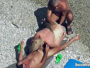Swinger Nudists Having Fun Readily obtainable The Beach Part 2