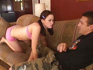 Redhead Teen Babe Loves Sucking His Cock