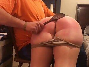 Otk pantyhose spanking - amateur oddball porn
