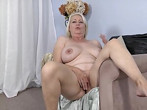 Hot big granny fabulous solitary video