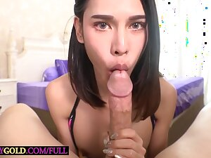 Tiny Asian Ladyboy Kitty Takes Huge Cock In Will not hear of Frowardness And Will not hear of Tight Asshole