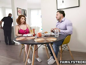 Always encounter stepsister and stepbrother fuck in perpetuity every second unworthy of dad's nose