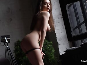 Merely Verifiable Bodied Russian Dancer Strips & Teases