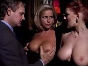 Milf Fastener Sharing Bosomy Redhead Lady