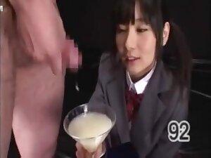 Ryoko Hirosaki Gokkun Swallow
